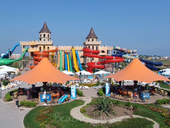 12 >> Aquaparks on the Black Sea in Bulgaria. Summer resort aqua parks.