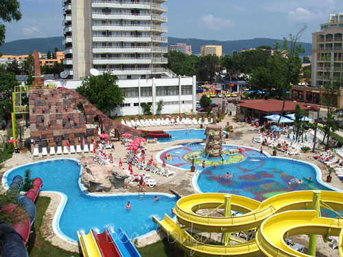 Aquaparks On The Black Sea In Bulgaria Summer Resort Aqua
