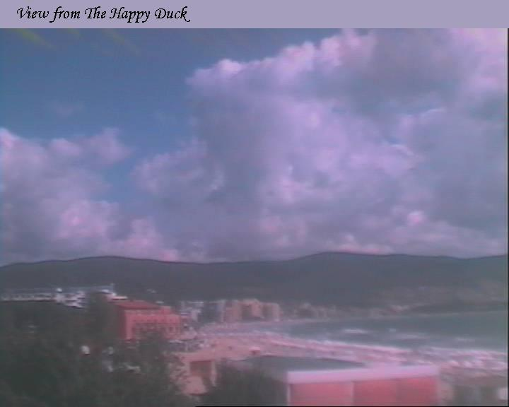 Sunny Beach Resort webcam - Happy Duck 1 webcam, Burgas, Nesebar